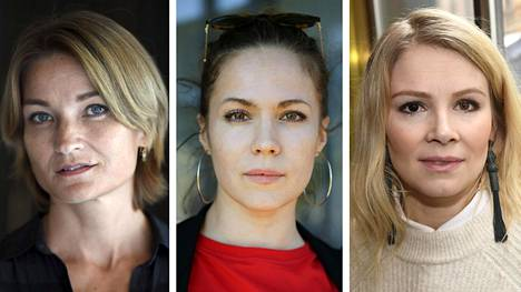 Matleena Kuusniemi (vas.), Pihla Viitala ja Pamela Tola kuuluvat kannanoton allekirjoittajiin.