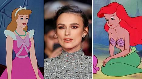 Keira Knightley on kieltänyt Tuhkimo- ja Pieni merenneito -animaatioiden katsomisen tyttäreltään.