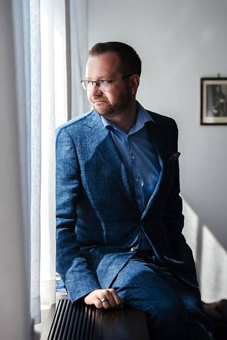Keskuskauppakamarin toimitusjohtaja Juho Romakkaniemi.