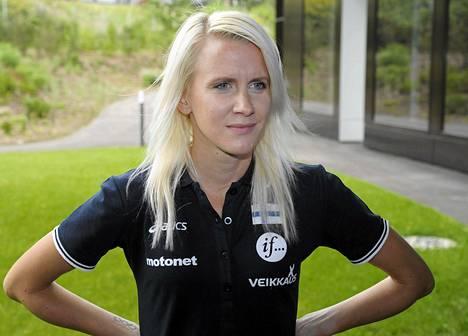 Sandra Eriksson lähtee luottavaisena 3000 metrin esteiden alkukilpailuun.