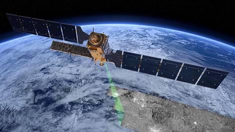 Suomessa Ilmatieteen laitoksen satelliittidatakeskus Sodankylässä vastaanottaa Esan Sentinel-1-satelliitin lähettämiä tietoja.