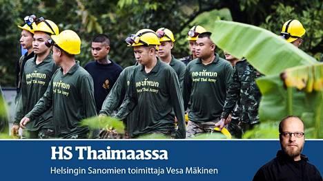 HS Thaimaassa, Vesa Mäkinen.