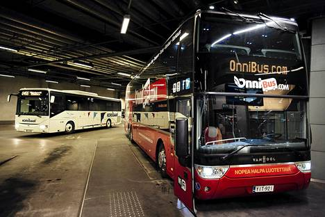 Onnibus ajaa paljon vuoroja perjantaina huolimatta kuljetusalan työntekijöiden osallistumisesta mielenilmaukseen.