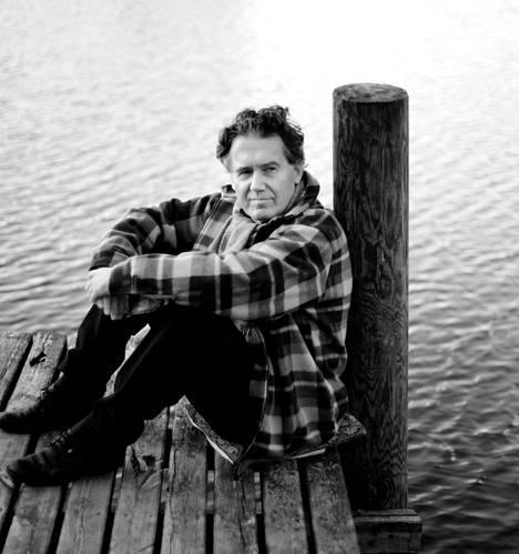Toni Edelmann kuvattiin 60-vuotishaastatteluun Luhangassa vuonna 2006.