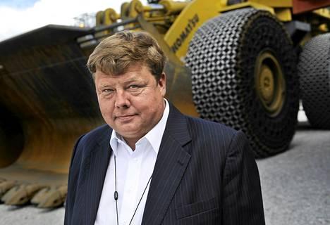 Sotkamon Talvivaaran kaivososakeyhtiön toimitusjohtaja Pekka Perä myöntää, että natriumsulfaatin ja mangaanin suuri määrä jätevesissä oli yhtiölle yllätys.
