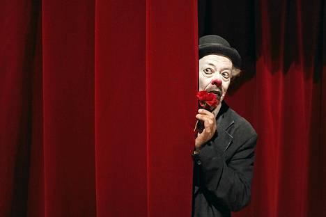 Sirkus Finlandian klovni Jyrki Nousiainen