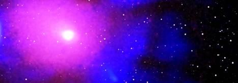 Hurja purkaus havaittiin sähkömagneettisen säteilyn eri aallonpituuksilla. Nasan Chandra-satelliitti esimerkiksi näkee röntgensäteitä.