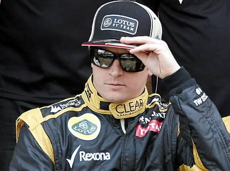 Kimi Räikkönen oli kolmas kauden 2012 MM-sarjassa.