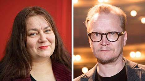 Susanna Kuparinen ja Janne Reinikainen.