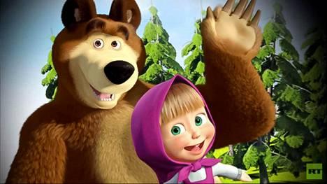 Karhu ja Maša ovat venäläisen animaation päähenkilöt.