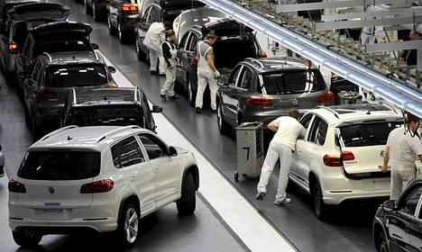 Autovalmistaja Volkswagenin tulos on kärsinyt Euroopan hiipuvasta kysynnästä.