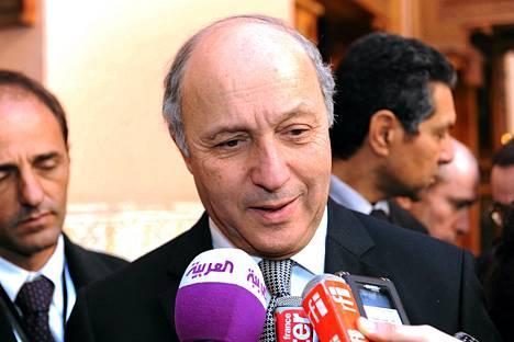 Ranskan ulkoministeri Laurent Fabius.