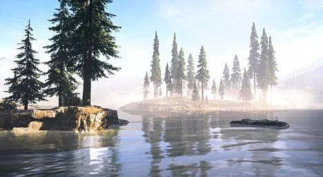 Bita Razavi: Screenshot from Far Cry 5, 2019,   yksityiskohta.