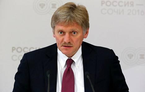 Putinin tiedottaja Dmitri Peskov