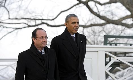Hollande ja Obama vierailivat Virginian Charlottesvillessä, jossa he tutustuivat Yhdysvaltojen kolmannen presidentin Thomas Jeffersonin kotitilaan.