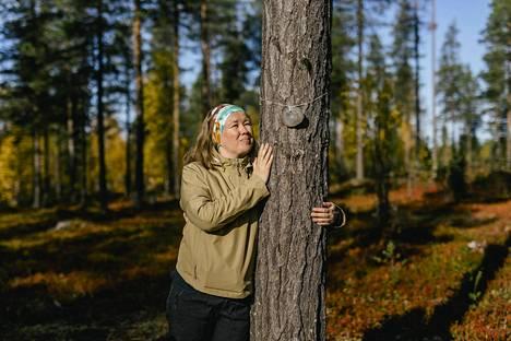 HaliPuu-yrityksen Riitta Raekallio-Wunderink on löytänyt lohtua siitä, ettei vaikea tilanne johdu hänen omista virheistään.