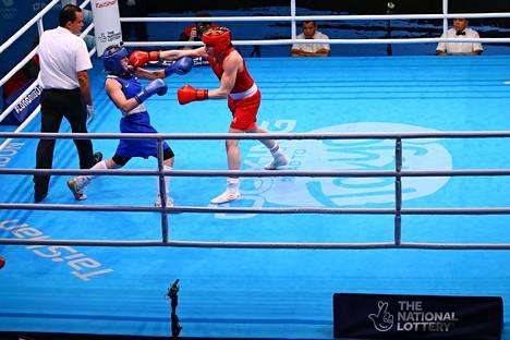 Olympiakarsintoja oteltiin maaliskuun puolivälissä Lontoossa.