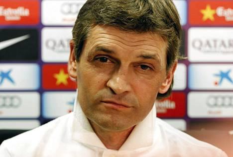 Tito Vilanova johti Barcelonan mestariksi kaudella 2012-13.