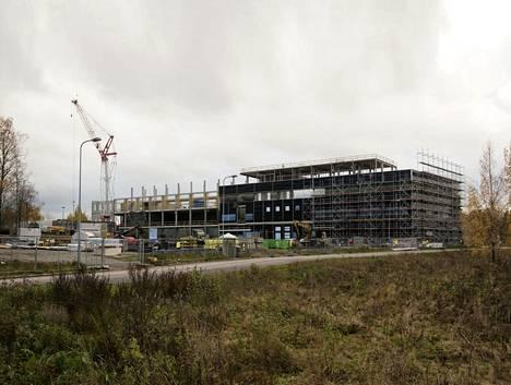 Säteilyturvakeskuksen uusi toimitalo nousee Vantaan Jokiniemeen.