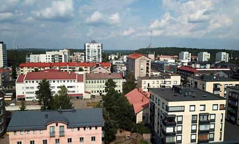 Asuntojen reaalihinnat laskevat muun muassa Kouvolassa.