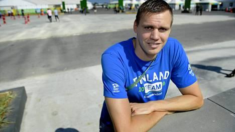 Ari-Pekka Liukkonen kilpailee sunnuntaina 100 metrin vapaauinnissa.