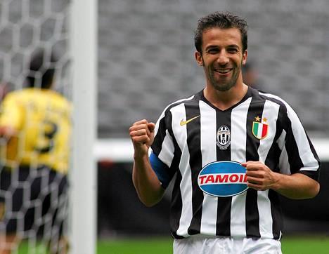 Alessandro Del Piero vuonna 2005.