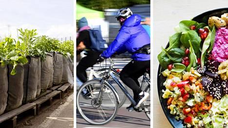Yli puolet helsinkiläisten päästöistä syntyy esimerkiksi ulkomailla tuotetuista tavaroista, ruuasta ja matkoista. Kulutustottumuksia voi kuitenkin muuttaa yksinkertaisinkin teoin.