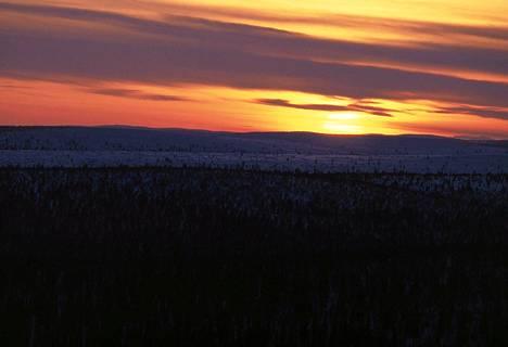 Aurinko näyttäytyy Utsjoella seuraavan kerran miltei kahden kuukauden päästä.