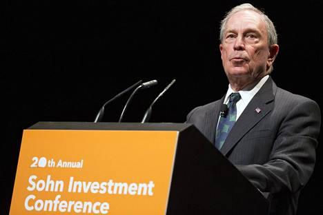 New Yorkin entinen pormestari Michael Bloomberg ei pyri maansa presidentiksi.