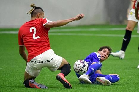 HIFK ja HJK kohtasivat SUomen cupin ottelussa 1. helmikuuta 2020.