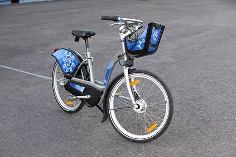 HKL:n johtokunta valitsi tiistaina tämän pyörämallin kulkupeliksi Helsingin uuteen kaupunkipyöräjärjestelmään.
