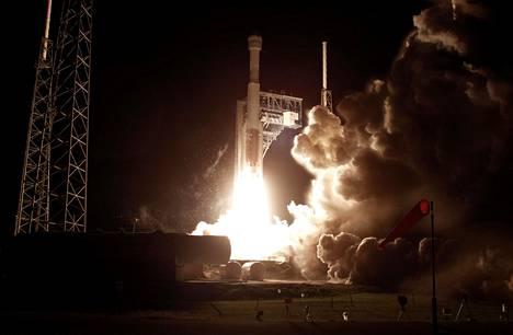 Starliner-kapseli laukaistiin joulukuussa Cape Canaveralin lentotukikohdassa Floridassa Atlas V -kantoraketin mukana.