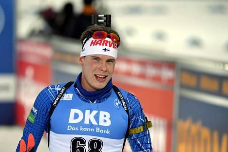 Tuomas Harjula sijoittui 14:nneksi Kontiolahdella kisatussa maailmancupin avauksessa.