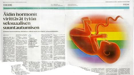 Artikkeli lesbouden biologisesta taustasta on herättänyt keskustelua.