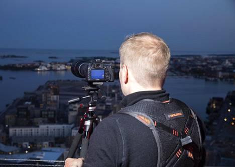 Janne Hirvonen kuvasi Tallinnan tv-tornia.