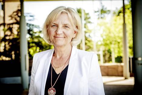 Telia-Soneran hallituksen puheenjohtaja Marie Ehrling on yksi harvoista naisista suurten pörssiyhtiöiden hallitusten johdossa.