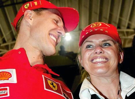 Michael ja Corinna Schumacher.