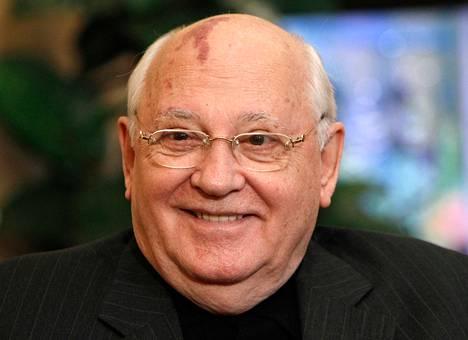 Mihail Gorbatsov vuonna 2010.