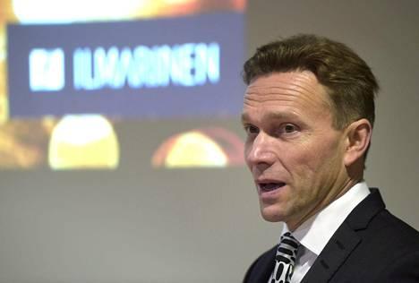Ilmarisen sijoitustuotto oli viime vuonna paras eläkeyhtiöiden ja eläkelaitosten joukossa. Toimitusjohtaja Timo Ritakallio esitteli yhtiön tulosta perjantaina.