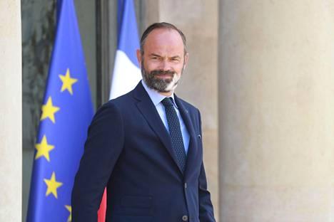 Ranskan pääministerin Édouard Philippen erosta kerrottiin perjantaina. Kuvassa Philippe 29. kesäkuuta 2020 Pariisissa.