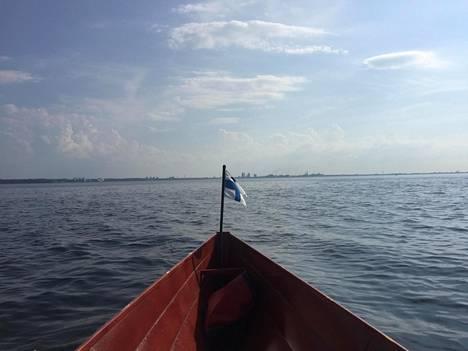 Jari Saario lähti Lauttasaaresta kohti Tallinnaa keskiviikkona ja palasi takaisin Helsinkiin perjantaiaamuna.