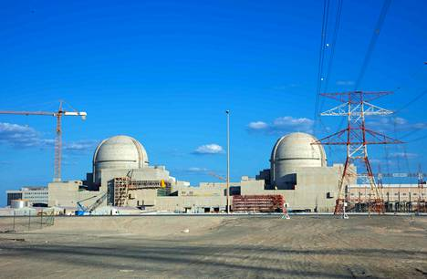 Barakahin ydinvoimala kuvattuna marraskuussa 2019.