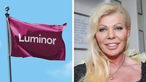 Virolaispankki Luminor jäädytti aiemmin Tiina Jylhän yrityksen tilin.