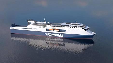 Finnlines on tilannut Kiinasta kaksi niin sanottua ropax-alusta eli matkustaja- ja rahtilaivan yhdistelmää. Ne valmistuvat vuonna 23 ja tulevat Naantalin ja Kapelskärin välille.