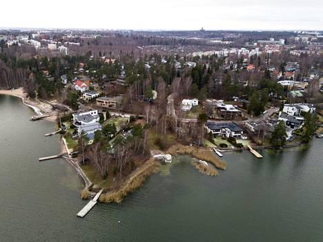 Itä-Helsingin Marjaniemi on arvostettu merellinen pientaloalue.