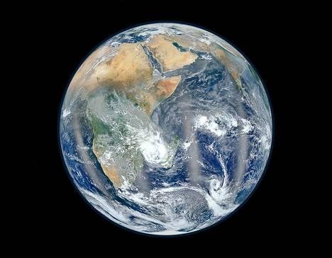 Tutkimuksen mukaan maapallon napaisuus vaihtui noin 200 vuodessa 41 000 vuotta sitten.