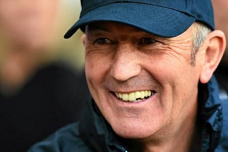 Tony Pulis on West Bromwichin uusi päävalmentaja.