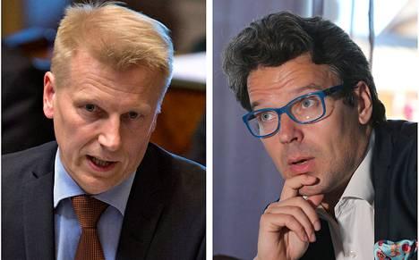 Kimmo Tiilikainen ja Ville Niinistö