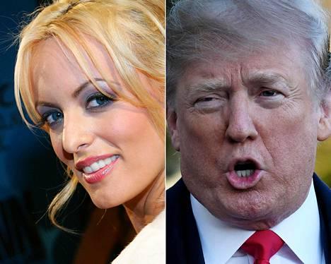 Stephanie Clifford ja Donald Trump