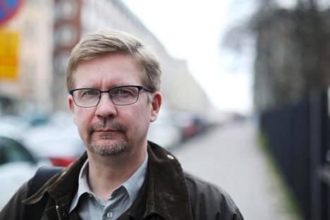 Tutkijaryhmää johtava professori Markus Jäntti kuvattuna vuonna 2017.